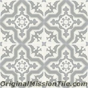 Original Mission Tile Cement Contemporary Pescadero 05 - 8 x 8