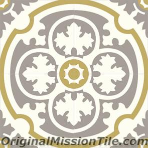 Original Mission Tile Cement Classic Philadelphia SL 04 - 8 x 8