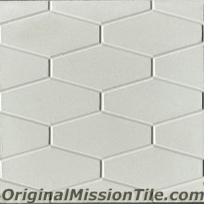 Original Mission Tile Cement Relief Rombos - 8 x 8