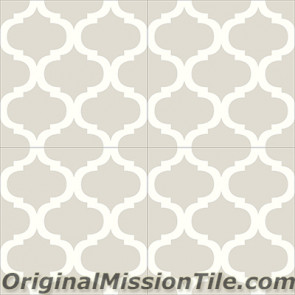 Original Mission Tile Cement Contemporary Salamanca 02 - 8 x 8