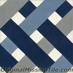 Original Mission Tile Cement Oceana Sea Road - 8 x 8