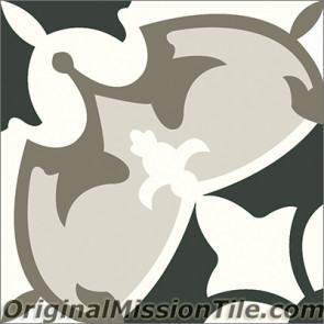 Original Mission Tile Cement Contemporary Sofia 01 - 8 x 8