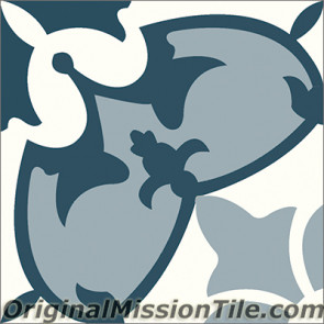 Original Mission Tile Cement Classic Sofia 04 - 8 x 8