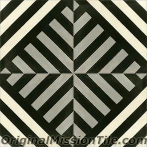 Original Mission Tile Cement Lee Sol 07 - 8 x 8
