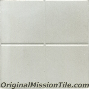 Original Mission Tile Cement Relief Squares II - 8 x 8