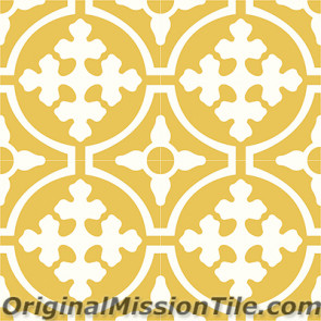 Original Mission Tile Cement Classic Tabasco 04 - 8 x 8