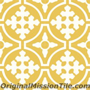 Original Mission Tile Cement Classic Tabasco 04 - 8 x 8