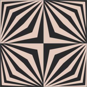Original Mission Tile Cement Laura Gottwald 1969 - 8 x 8