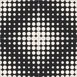 Original Mission Tile Cement Laura Gottwald Fuzz-tone - 8 x 8