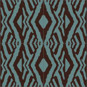 Original Mission Tile Cement Laura Gottwald Tribe - 8 x 8