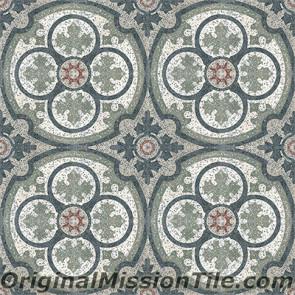 Original Mission Tile Cement Terrazzo Philadelphia SL - 8 x 8