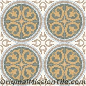 Original Mission Tile Cement Terrazzo Santa Maria - 8 x 8