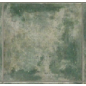 Porcelain green floor tiles